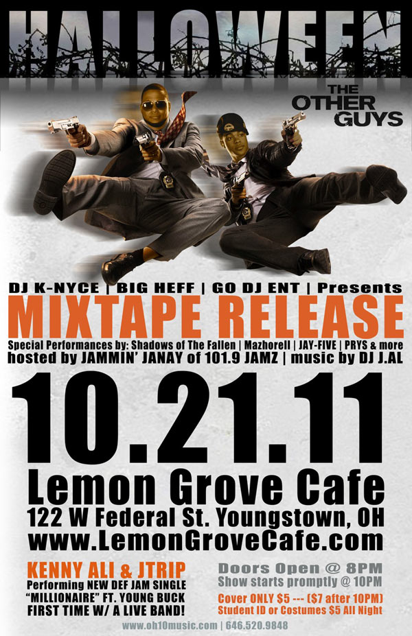 Kenny Ali & JTrip - The Other Guys Mixtape at the Lemon Grove 10-21-2011