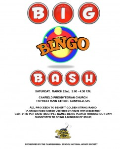 Golden String Big Bingo Bash 2014